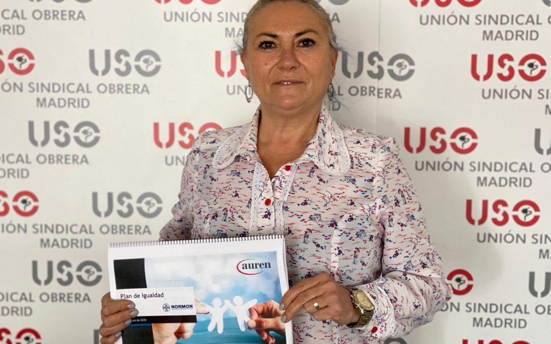 Los delegados de USO en Normon firman el Plan de Igualdad