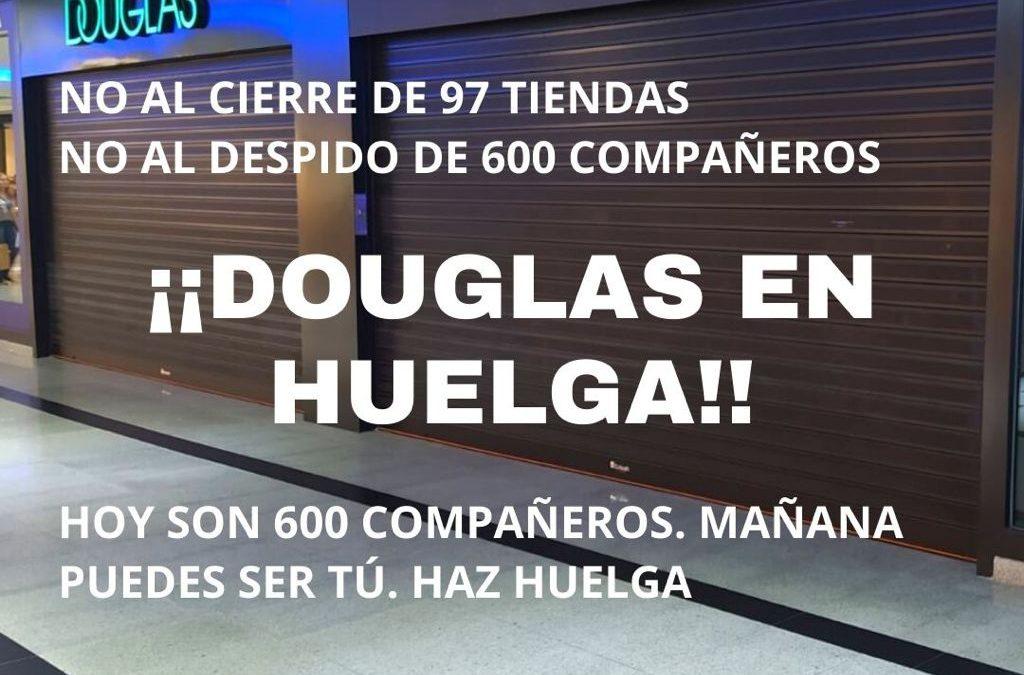 Convocada huelga contra el ERE en Douglas el 12 y 18 de marzo