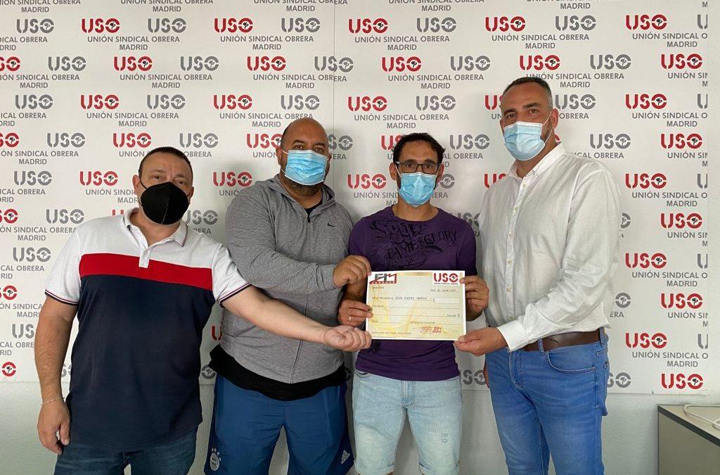 La CRS de USO-Madrid abona 1.800 euros a los trabajadores de John Deere penalizados por la huelga