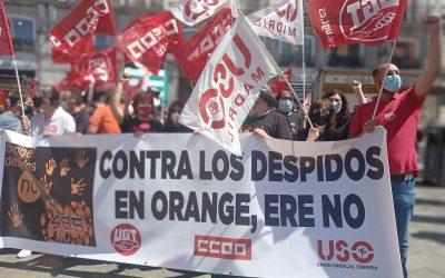 ERE en Orange: aumentar beneficios, reducir costes de personal