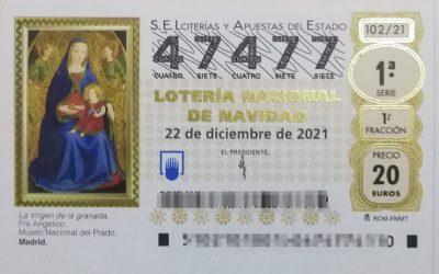 Ya está disponible la lotería de Navidad 2021 de USO-Madrid